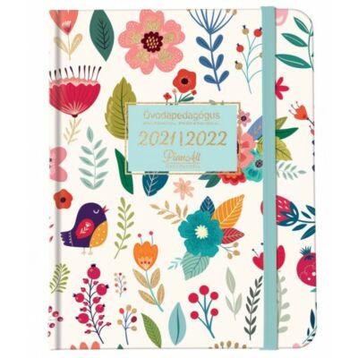 Óvodapedagógusi tervező - naptár 2021/2022 - B5 - Flower Garden