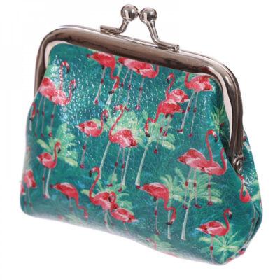 Flamingó kapcsos pénztárca
