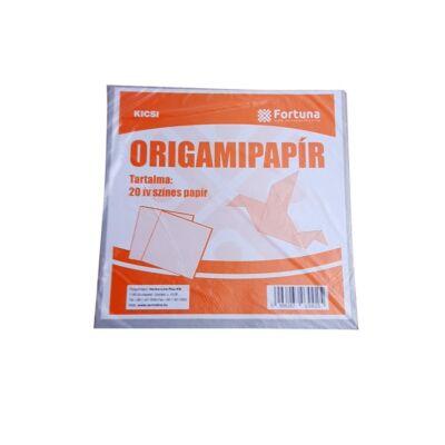 Színes origami lapok Fortuna