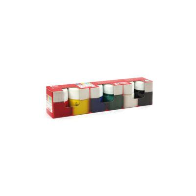Tempera - Südor tégelyes tempera - 6 szín - 6x15 ml