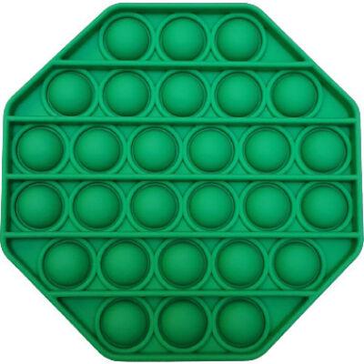 Pop it fidget stresszoldó játék - Rainbow - zöld