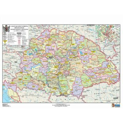 A Magyar Szent Korona országai, címerei tanulói munkalap