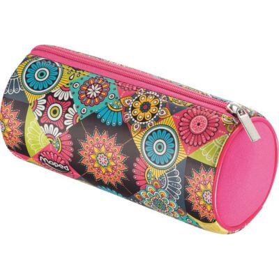 Maped Mosaic hengeres bedobálós tolltartó - Pink Mandala