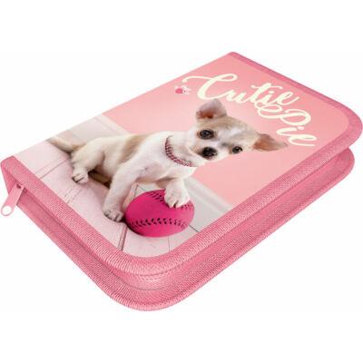 Pet Cutie Pie kutyás varrott tolltartó