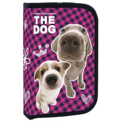 The Dog kutyás klapnis üres tolltartó