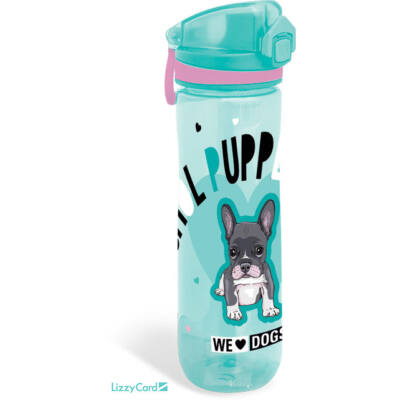 Kutyás prémium kulacs - We love dogs blue - 600 ml