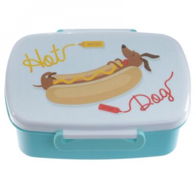 Hotdog kutyás uzsonnás doboz - tacskó