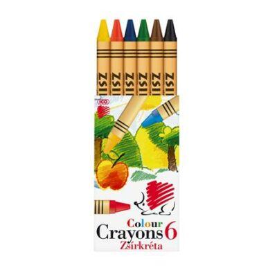 ICO Süni zsírkréta - 6 szín