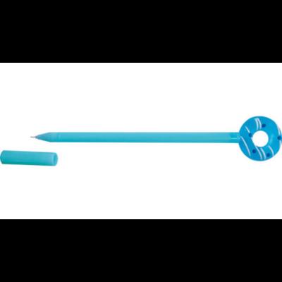 Zseléstoll gumifigurával - fánkos - kék színű