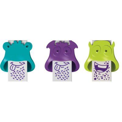 Maped Little Monster radír műanyagtokban