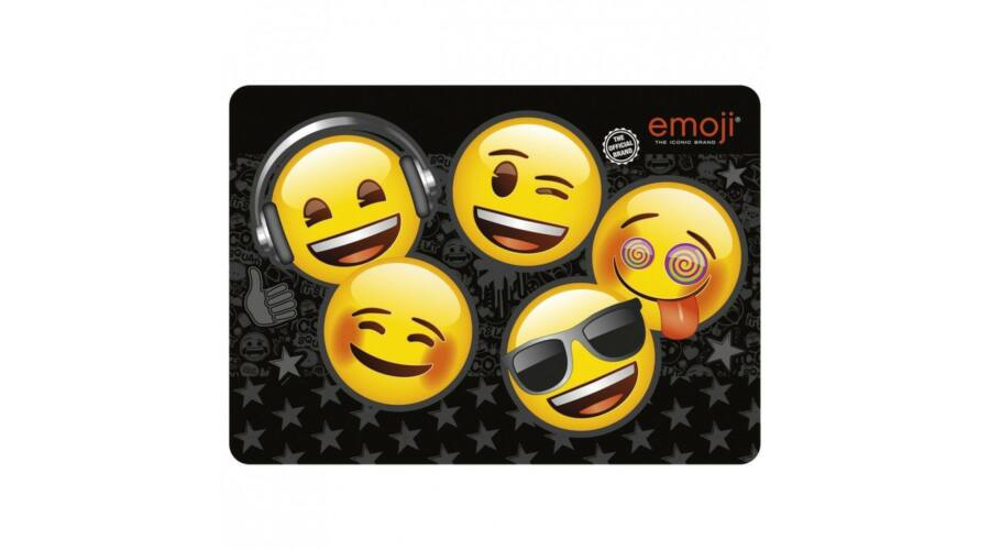 Emoji asztali könyöklő füzetalátét Smiley Derform 49e92a49f2