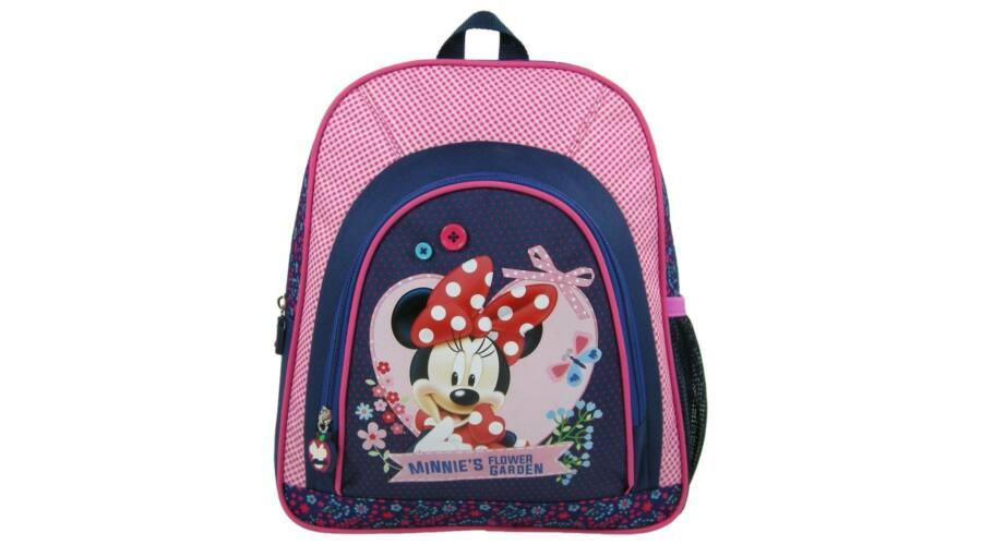 Minnie egér két rekeszes hátizsák ovis táska Katt rá a felnagyításhoz c067e811a0