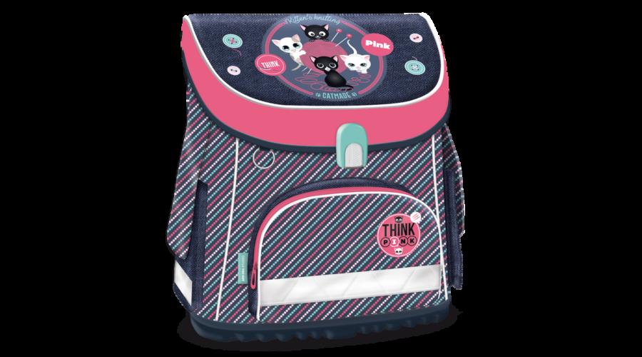 50830f5a0602 Think-Pink cicás iskolatáska Katt rá a felnagyításhoz
