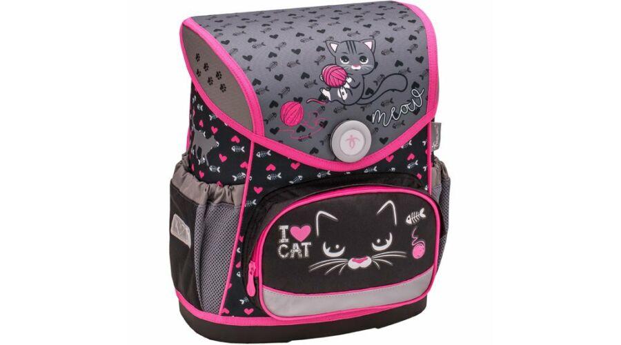 c443cb9d2d0d Belmil Compact iskolatáska szett I love cat cica