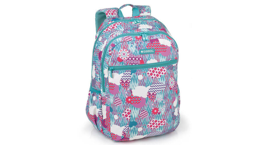 21860b0226e3 Gabol Color ergonómikus kialakítású hátizsák, iskolatáska - 23 literes