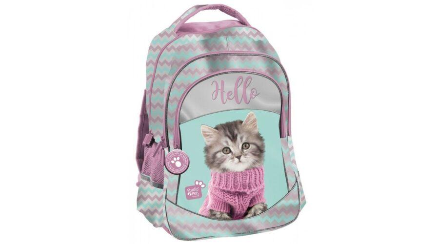 ece7d97ca39b Cicás iskolatáska hátizsák Katt rá a felnagyításhoz