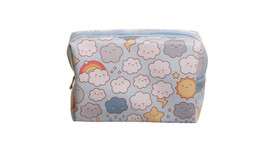 65f88d8fa06e Kawaii felhő neszeszer kozmetikai táska