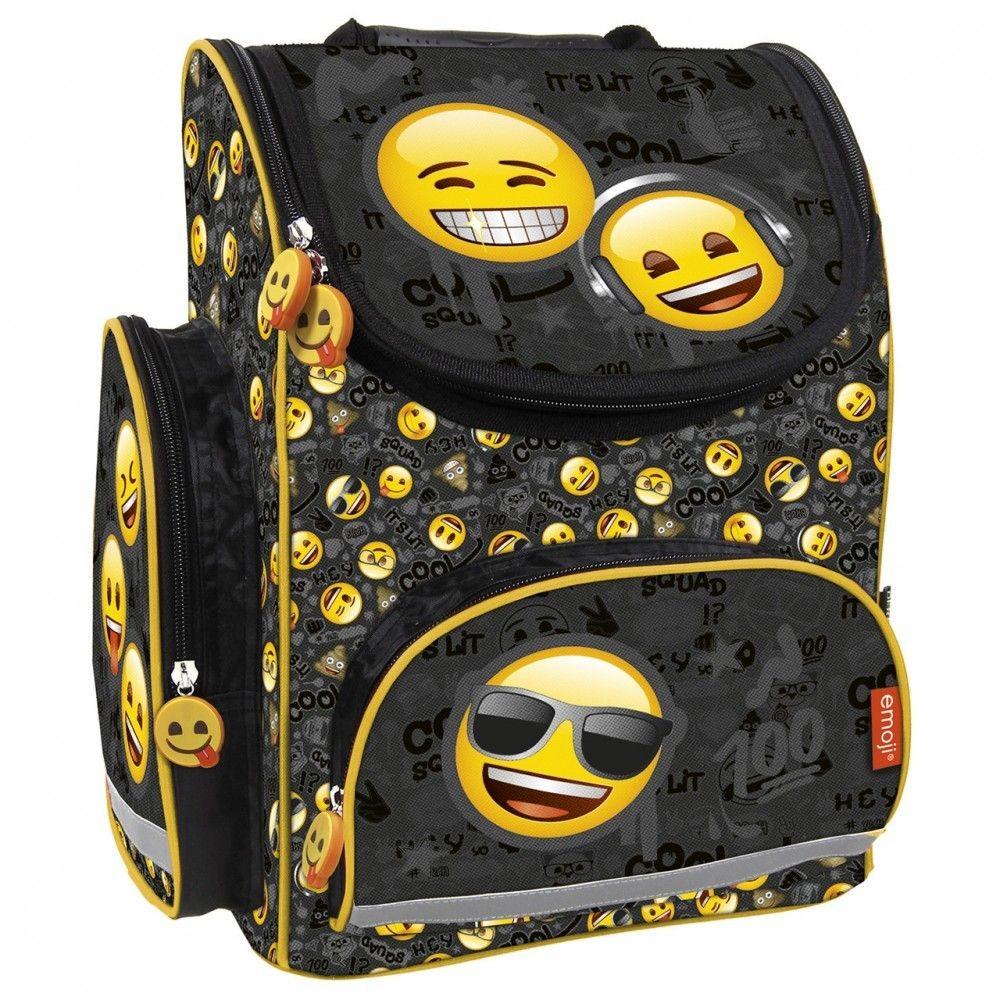 Emoji Smiley ergonómikus anatómiai iskolatáska 08ef701404