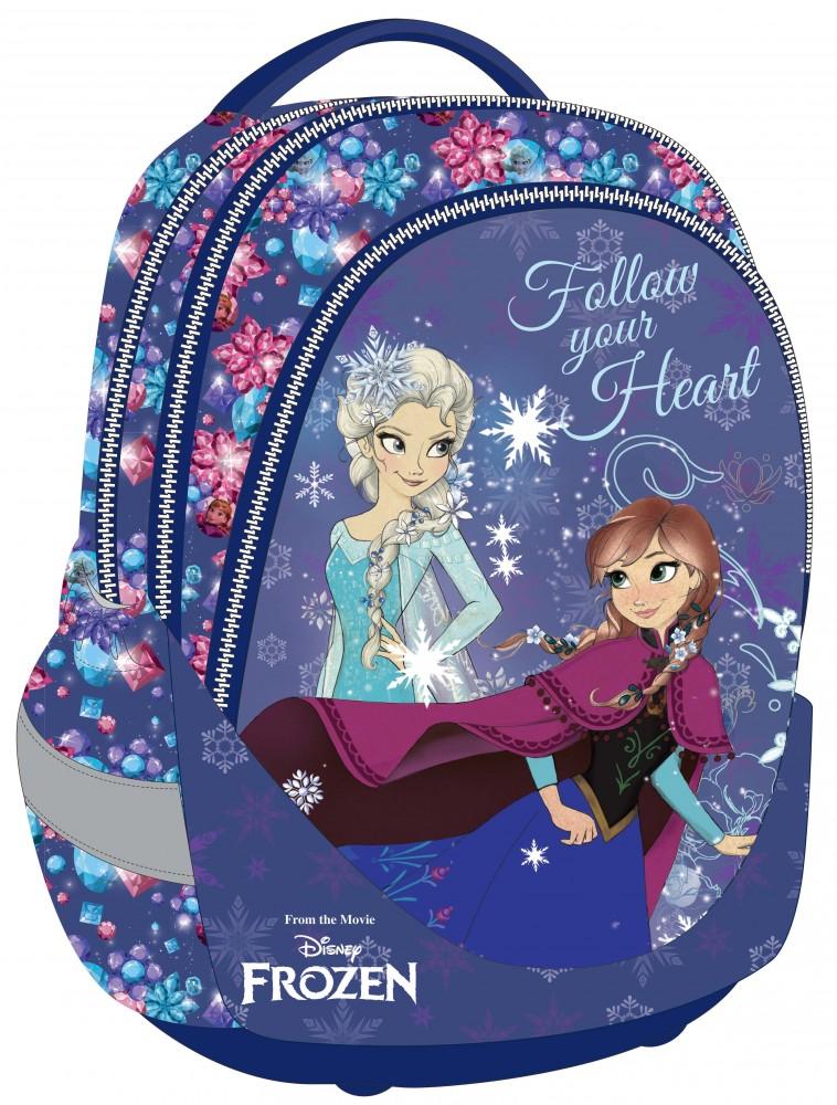 a302d5bb6f85 Jégvarázs Frozen ergonómikus hátizsák iskolatáska